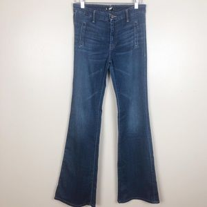 Mother The Drama High Rise Flare Jeans